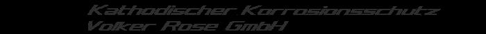 Logo von Kathodischer Korrosionsschutz Volker Rose GmbH